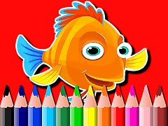 BTS Fish Coloring Book