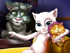 Talking Angela and the New Born Baby